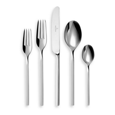 Villeroy & Boch New Wave 44-Piece Flatware Set