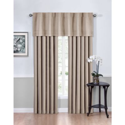 Vivianna Sound Asleep™ 63-Inch Room Darkening Back Tab Top Window Curtain Panels in Sangria