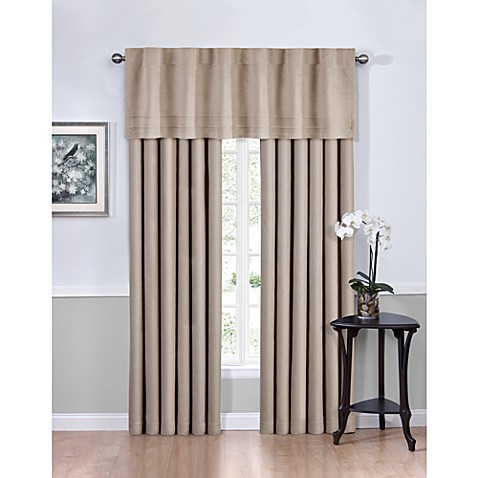 Vivianna Sound Asleep™ Room Darkening Back Tab Top Window Curtain Panels