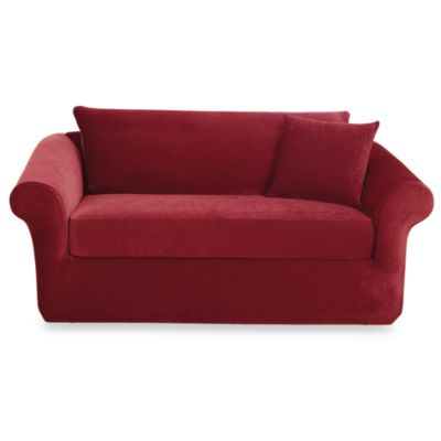Sure Fit® Stretch Sterling 3-Piece Sofa Slipcover