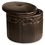 Uttermost Brunner Small Storage Ottoman