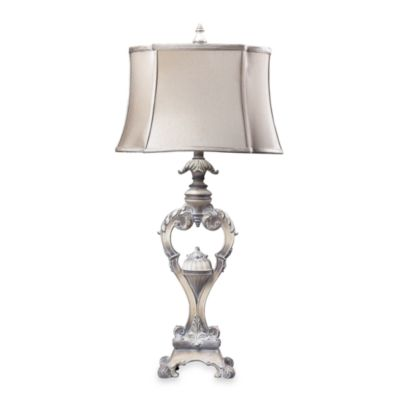 Dimond Lighting Villa Romano Sterling Silver Table Lamp