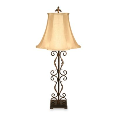 Dimond Lighting Ernesto Scroll Table Lamp