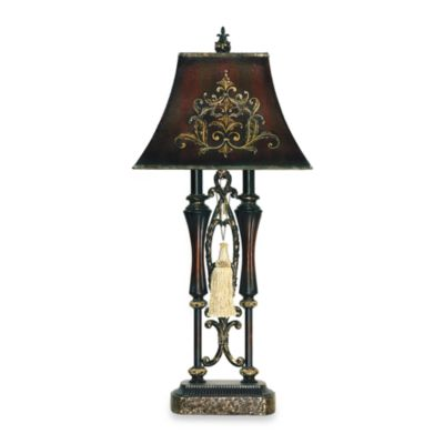 Sterling Double Tassel Iron Table Lamp
