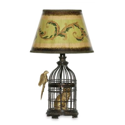 Accent Lamps with Birds