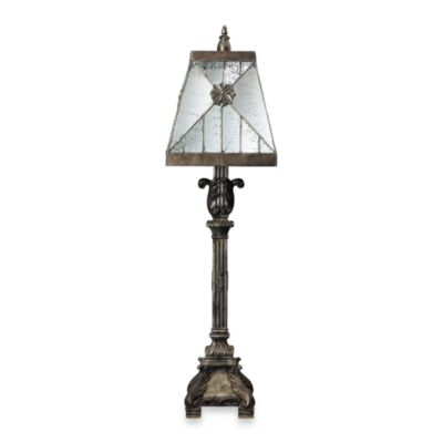 Dimond Lighting Mystic Medieval Buffet Lamp With Reflective Shade