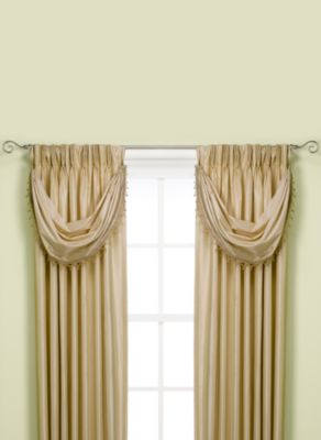 Argentina Crescent Window Valance in Linen