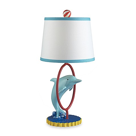 Davy the Dolphin Kids' Lamp