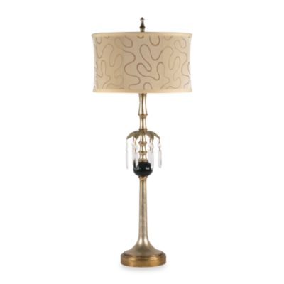 Dimond Lighting Traditional Collection Table Lamp intopaz Drop Design