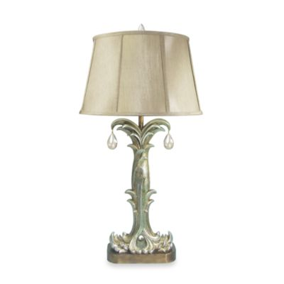 Dimond Lighting Traditional Parisian Collection Silver Fontaine Table Lamp