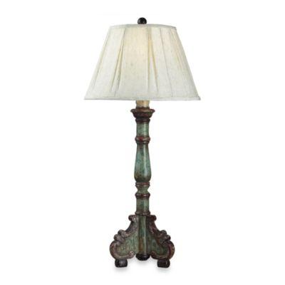 Dimond Lighting San Sebastian Table Lamp With Off-White Shade