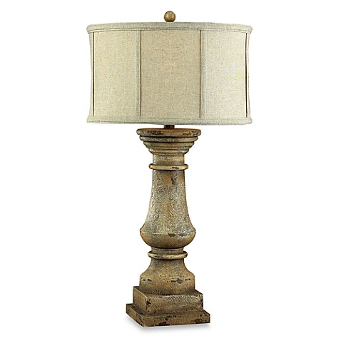 Dimond Lighting 33-Inch French-Inspired Cahors View Table Lamp with Columnar Base