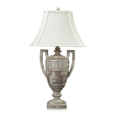 Dimond Lighting Large Greek Key Table Lamp Featuring Classic Designs