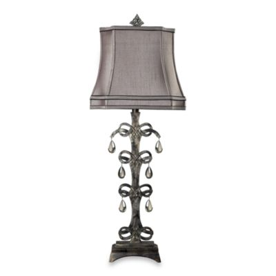 Dimond Lighting Celtic Knot Crystal-Tiered Table Lamp