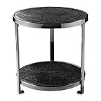 Black Crock Two-Tiered Round Coffee Table