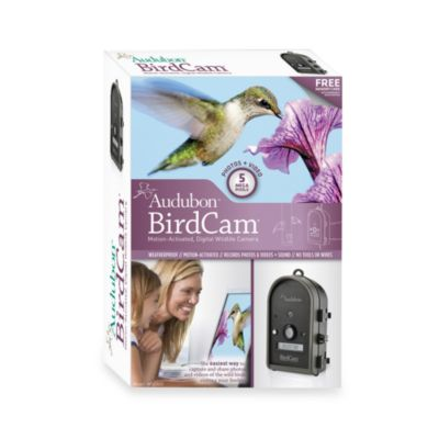 Audubon™ BirdCam® 5MP Motion-Activated Digital Wildlife Camera