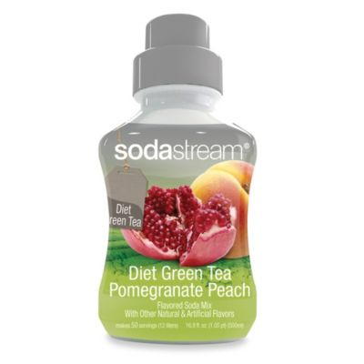 SodaStream Sodamix Flavor in Diet Green Tea Pomegranate Peach