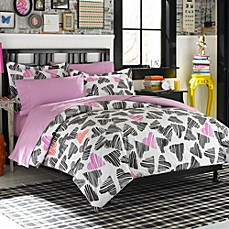 Teen Vogue® Punky Sweethearts Twin Comforter Set