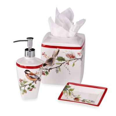 Lenox® Winter Song Lotion Dispenser