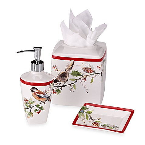 Lenox® Winter Song Bath Ensemble