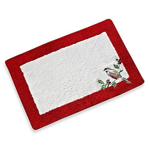 Buy Lenox 174 Winter Song Bath Rug From Bed Bath Amp Beyond