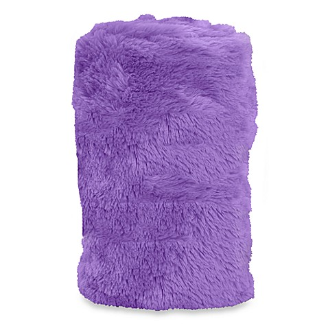 Teen Vogue® Faux Fur Throw
