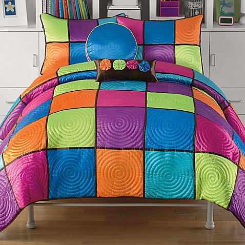 Candy Box Twin Comforter Set