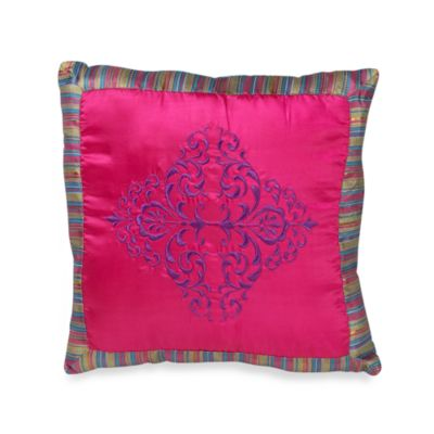 Kamille 18-Inch Square Throw Pillow
