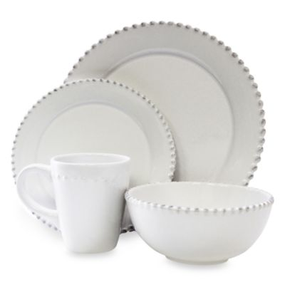 Round Casual Dinnerware Set