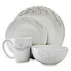 Bianca Laurel 16-Piece Round Dinnerware Set