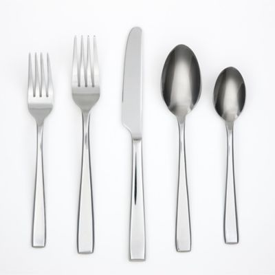 Cambridge® Silversmiths Logan Satin 20-Piece Flatware Set