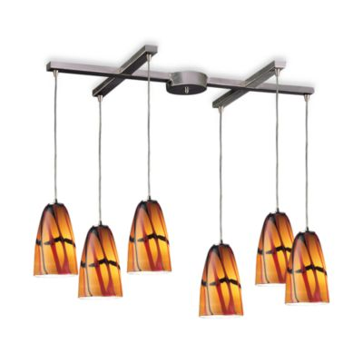 Elk Lighting 6-Light Jasper Glass