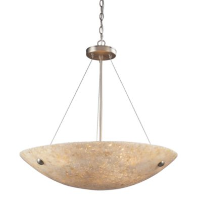 ELK Lighting Stonybrook 6-Light Pendant with Pearl Stone