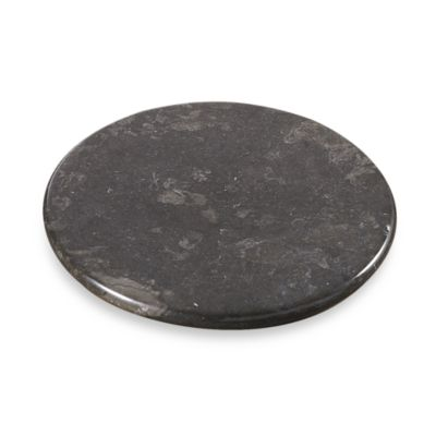 Byzantine Marble Charcoal 12-Inch Lazy Susan