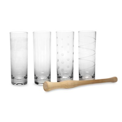 Mikasa® Cheers 14-Ounce Mojito Set with Muddler