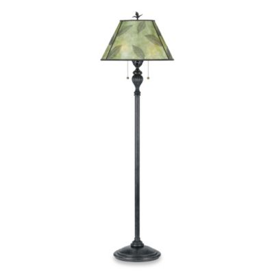 Quoizel Mica Leaf Floor Lamp