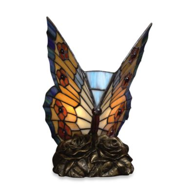 Quoizel® Tiffany Butterfly 1-Light Accent Lamp