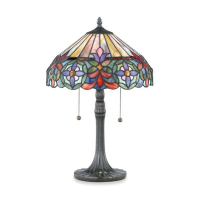 Quoizel® Connie Tiffany 2-Light Table Lamp