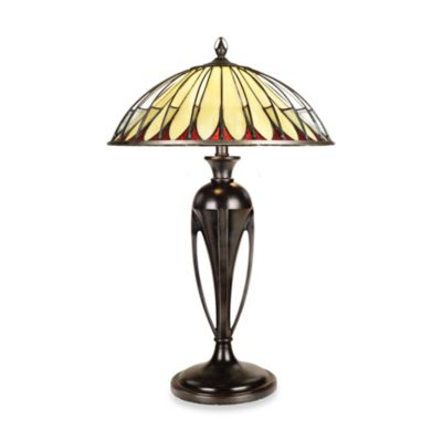 Quoizel® Alahambre Tiffany 2-Light Table Lamp