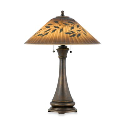 Quoizel® Mountain Lodge 2-Light Table Lamp