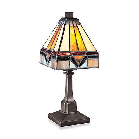 Quoizel Tiffany Portable 1-Light Table Lamp