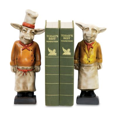 Sterling Home Chef Pig Bookmarks