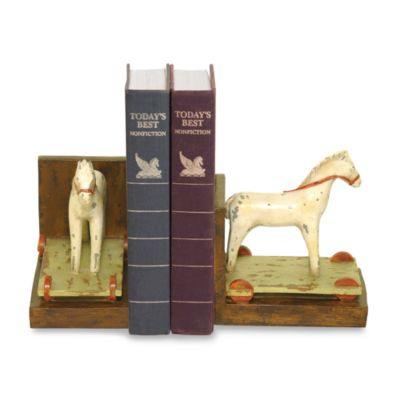 Sterling Home Child's Pony Bookends