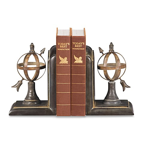 Sterling Home Arrow and Sphere Bookends