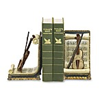 Sterling Home Violin and Music Bookends