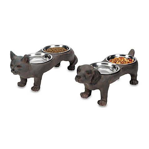 Sterling Industries Perfect Pet Bowls - Set of 2
