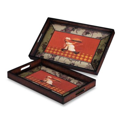 Sterling Industries Busy Chef Trays (Set of 2)