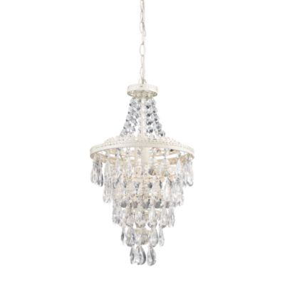 Sterling Industries French Country Clear Crystal Pendant
