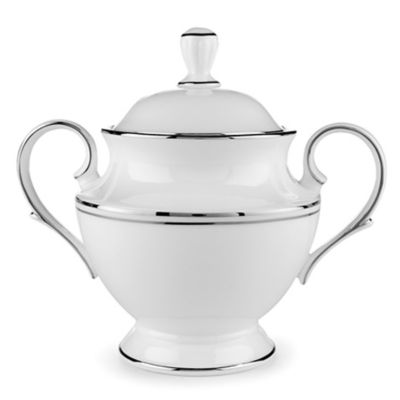 Lenox® Federal Platinum Covered Sugar Bowl