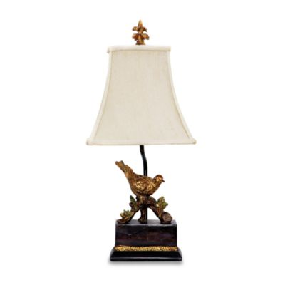 Perching Robin Table Lamp